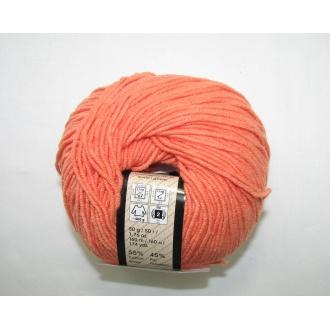 Jeans 50g - 23 oranžová