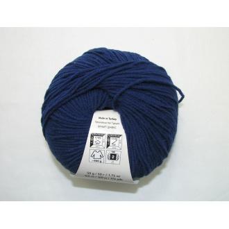 Jeans 50g - 54 tmavo modrá