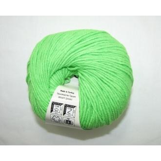 Jeans 50g - 60 neon zelená