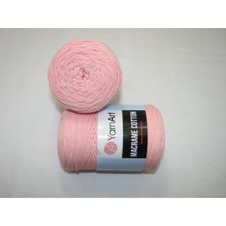 YarnArt Macrame cotton 250g - 767 ružová