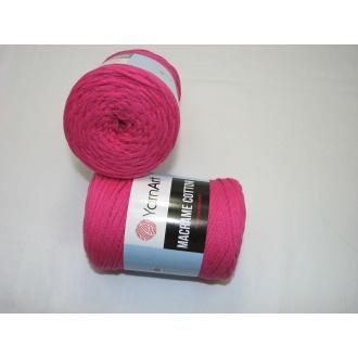YarnArt Macrame cotton 250g - 771 krikľavá ružová