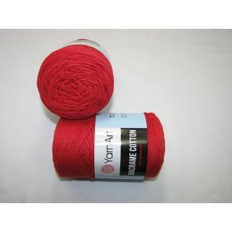 YarnArt Macrame cotton 250g - 773 červená