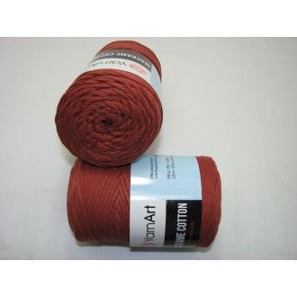 YarnArt Macrame cotton 250g - 785 tehlová
