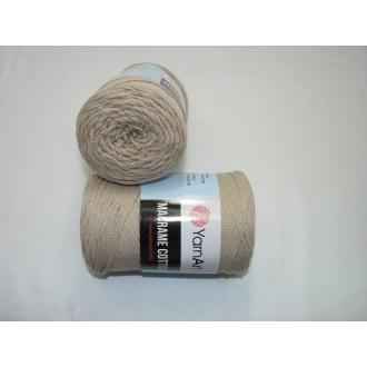 YarnArt Macrame cotton 250g - 753 béžová