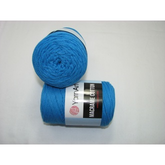 YarnArt Macrame cotton 250g - 7780 tyrkysová