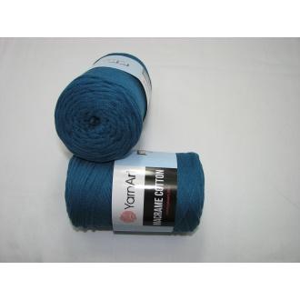 YarnArt Macrame cotton 250g - 789 tmavý tyrkys