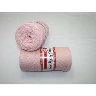 Bavlnené Macrame-Makarony 250g- 912 ružová