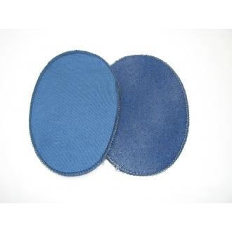 Nažehľovacie záplaty jersey-úplet modrá