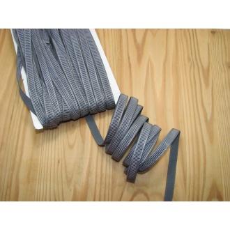 Ramienková guma š.10mm , šedá