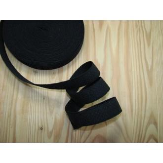 Ramienková guma š.23mm,čierna