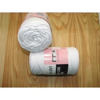 YarnArt Macrame cord 3mm,250g- 751 biela