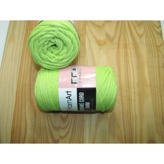 YarnArt Macrame cord 3mm,250g- 755 jablko zelená