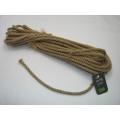 Jutové lano priemer 8mm