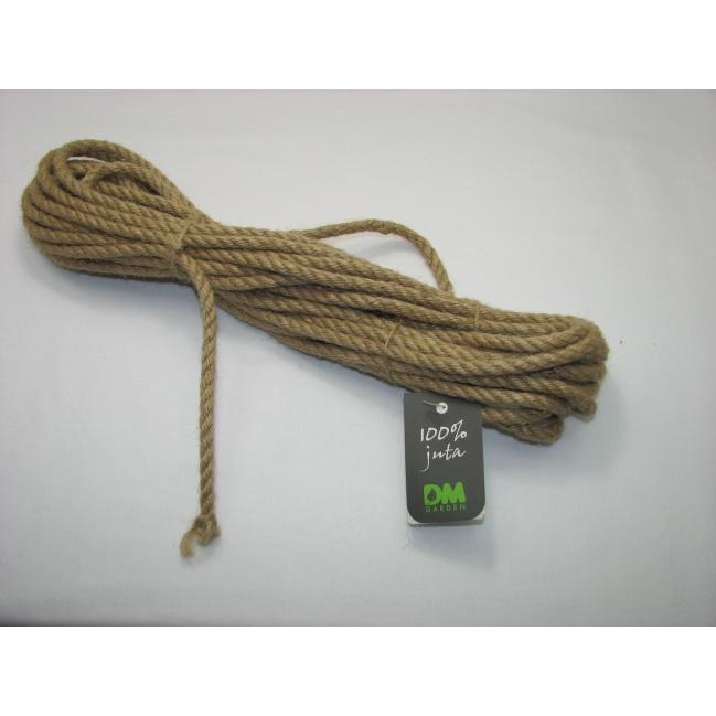 Jutové lano priemer 6mm