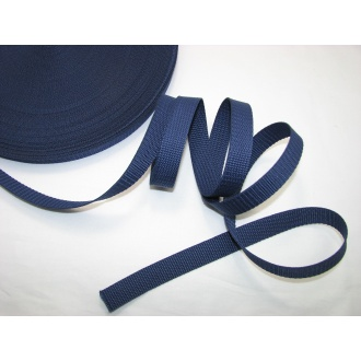 Popruh 2cm, tmavo modrý