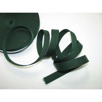 Popruh 2cm,tmavo zelený
