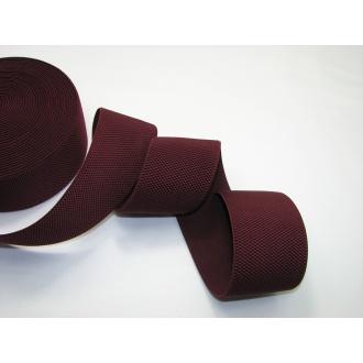 Guma odevná bordová 6cm