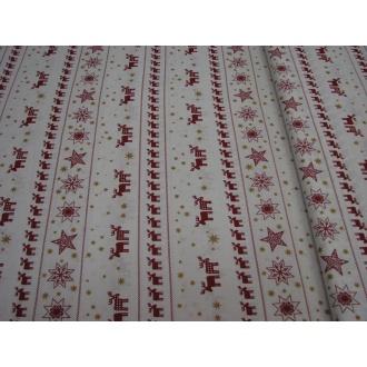 Vianočná Bavlna š.140cm