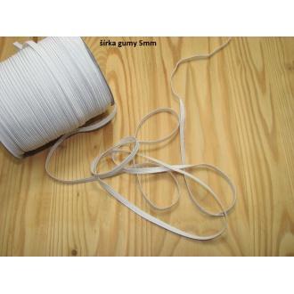 Guma prádlová - 5mm