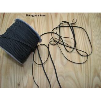 Guma prádlová - 3mm