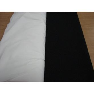Bavlna100% bavlna - biela 140g  -rúška s aktívnym striebrom