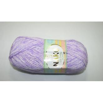 Elit Baby  100g 31707 fialový,melír
