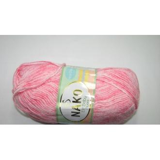 Elit Baby  100g 31710 ružový ,melír
