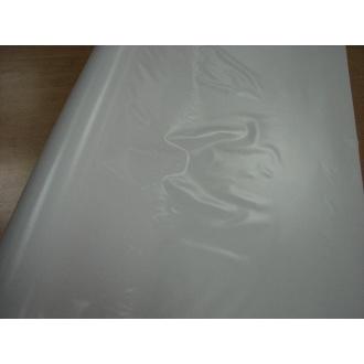 PVC Nepodlepený Obrus metráž - 1m- biely
