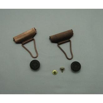 Záves trakový na gombík 40 mm - Sada