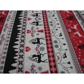 Vianočná Bavlna š.160cm