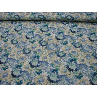 Modrý mix kvetov š.140cm