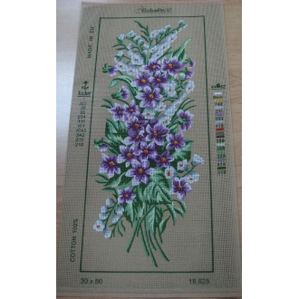 Obraz kvety  30x60cm
