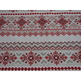 Dekoračná bavlna, ľudový vzor