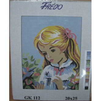 Obraz na vyšívanie 20x25