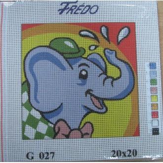 Obraz detský na vyšívanie 20x20