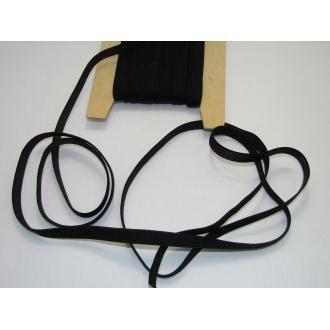 Ramienková guma š.10mm ,čierna