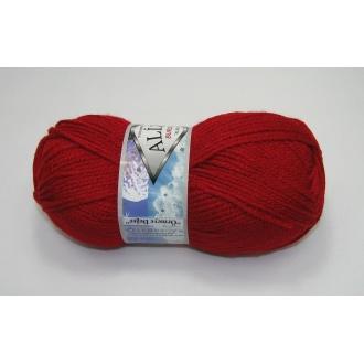 Alize Burcum klasik 100g - 106 červená