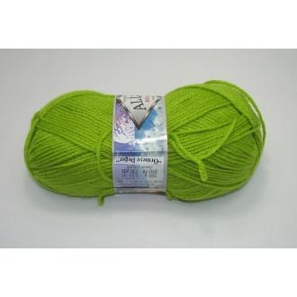 Alize Burcum klasik 100g - 117 zelená jablková