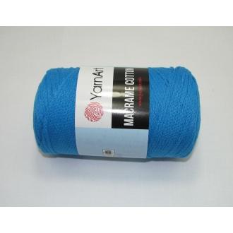 YarnArt Macrame cotton 250g - 780 tyrkysová