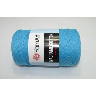 YarnArt Macrame cotton 250g - 763 svetlý tyrkys
