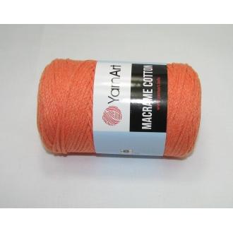 YarnArt Macrame cotton 250g - 770 oranžová