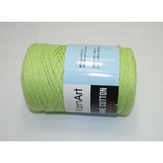 YarnArt Macrame cotton 250g - 755 zelená jablková