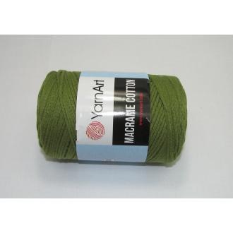 YarnArt Macrame cotton 250g - 787 olivová