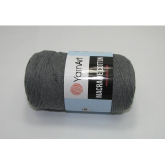 YarnArt Macrame cotton 250g - 774 tmavo šedá
