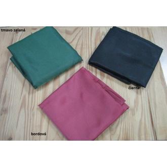 Textilná taška 100% PES čierna