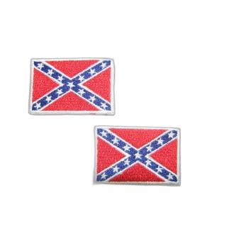 Vlajka Konfederácie 4,5 x 3,8 cm