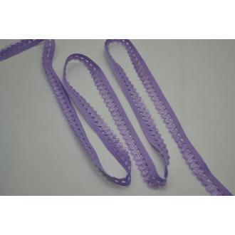 Ozdobná guma fialová