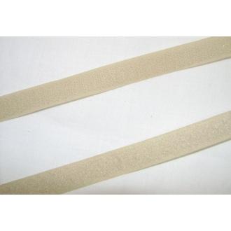 Suchý zips 16mm - (Béžový)