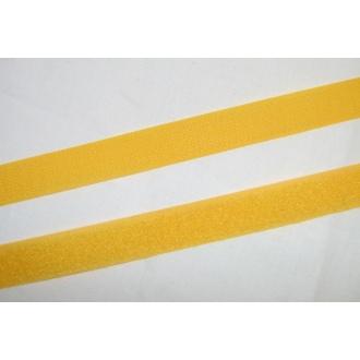 Suchý zips 20mm - (žltý)