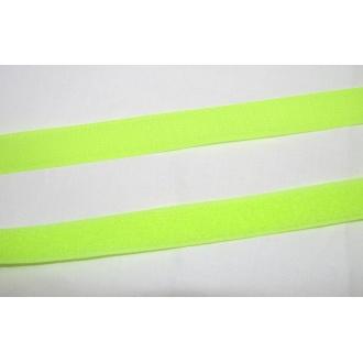 Suchý zips 20mm - (neonovo žltý)